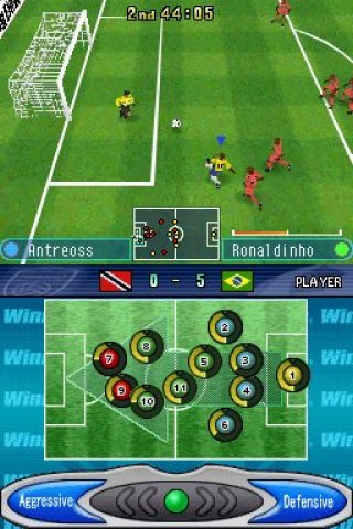 Winning Eleven: Pro Evolution Soccer 2007 - NDS - Review